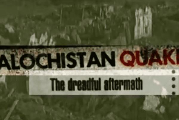 Balochistan Quake - The After Math - Long Trailer