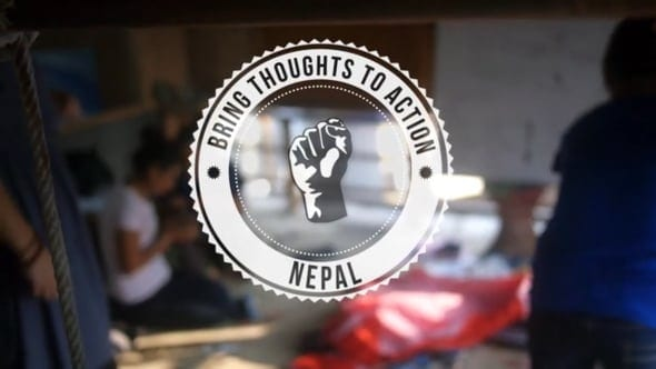 Bring Thoughts To Action - Make A Difference - Kathmandu - Nepal
